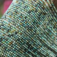 Türkis Perlen, rund, poliert, DIY & verschiedene Größen vorhanden, grün, verkauft per ca. 16 ZollInch Strang