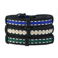 Kunstleder Armband-Set, für Frau, frei von Nickel, Blei & Kadmium, 170-180mm, Länge:ca. 7.08 ZollInch, 3SträngeStrang/setzen, verkauft von setzen