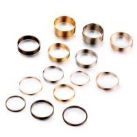 Zink-Legierungsring-Set, Zinklegierung, plattiert, unisex, gemischte Farben, frei von Nickel, Blei & Kadmium, 35mm,5mm,6mm,65mm,75mm, verkauft von PC