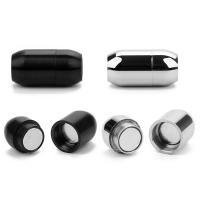 Edelstahl Magnetverschluss, plattiert, verschiedene Größen vorhanden, keine, 2PCs/Tasche, verkauft von Tasche