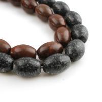 Regen Blumen Stein Perlen, verschiedene Größen vorhanden, keine, 13*18mm, verkauft von Strang