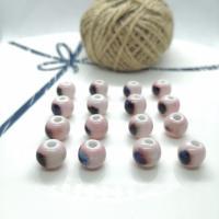 Porzellan Schmuckperlen, handgemacht, verschiedene Größen vorhanden & verschiedene Stile für Wahl, 10mm,18mm, Bohrung:ca. 3mm, 50PCs/Tasche, verkauft von Tasche