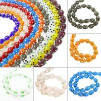 Holprige Lampwork Perlen, uneben, keine, 19x19mm, Bohrung:ca. 1mm, ca. 100PCs/Tasche, verkauft von Tasche