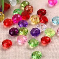 Transparente Acryl-Perlen, Acryl, verschiedene Größen vorhanden, keine, 6mm, verkauft von Tasche
