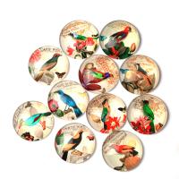 organisches Glas Kühlschrank-Magnet, mit Magnet & verschiedene Größen vorhanden, 18mm, 500PCs/Menge, verkauft von Menge