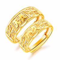 Messing Open -Finger-Ring, unisex & verschiedene Stile für Wahl, goldfarben, frei von Nickel, Blei & Kadmium, 8mm,6mm, verkauft von PC