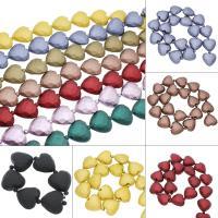 ABS-Kunststoff-Perlen, ABS Kunststoff, Herz, keine, 30x28x16mm, Bohrung:ca. 2mm, ca. 5SträngeStrang/Tasche, ca. 22PCs/Strang, verkauft von Tasche