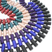 ABS-Kunststoff-Perlen, ABS Kunststoff, Zylinder, keine, 25x12mm, Bohrung:ca. 2mm, ca. 5StrangStrang/Tasche, verkauft von Tasche