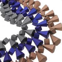 ABS Kunststoff Großes Loch Perlen, keine, 23x35mm, Bohrung:ca. 3mm, 10PC/Tasche, verkauft von Tasche