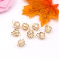 ABS-Kunststoff-Perlen Anhänger, mit Zinklegierung, Einbrennlack, verschiedene Größen vorhanden & verschiedene Stile für Wahl & mit Strass, Bohrung:ca. 2mm, 100PCs/Tasche, verkauft von Tasche