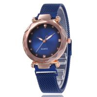 Damen Armbanduhr, Zinklegierung, mit Glas, plattiert, für Frau & mit Strass, keine, frei von Nickel, Blei & Kadmium, 36mm, Länge:ca. 9.06 ZollInch, verkauft von PC