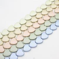 ABS-Kunststoff-Perlen, ABS Kunststoff, Herz, keine, 20x20x6mm, Bohrung:ca. 2mm, ca. 300PCs/Tasche, verkauft von Tasche