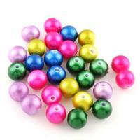 Gemischte Acrylperlen, Acryl, 12*11mm, Bohrung:ca. 2mm, 500PC/Tasche, verkauft von Tasche
