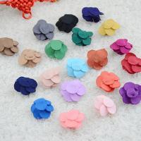 Mode Dekoration Blumen, Stoff, keine, 25=30mm, ca. 20PCs/Tasche, verkauft von Tasche