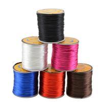 Nylon Polypropylen Nichtelastisches Garn, plattiert, Multifunktions & DIY, keine, frei von Nickel, Blei & Kadmium, 1.5mm, 60m/Spule, verkauft von Spule
