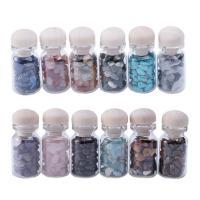 Edelstein mit Kunststoff, unisex, gemischte Farben, 3mm,8mm,4.9*2.2cm, 13.3*5.1*4.5cm, 2BoxenFeld/Menge, 12PCs/Box, verkauft von Menge