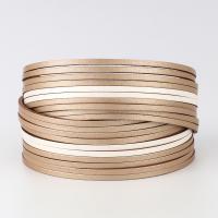 PU Schnur Armbänder, PU Leder, Zinklegierung Magnetverschluss, für Frau, keine, 40x195mm, verkauft von Strang