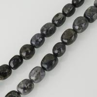 Schwarzer Rutilquarz Perle, schwarz, frei von Nickel, Blei & Kadmium, 12x15mm, Bohrung:ca. 1.5mm, ca. 27PCs/Strang, verkauft per ca. 16 ZollInch Strang