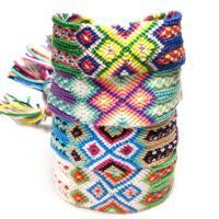 Baumwollfaden Armband, für Frau, keine, Länge:ca. 17.3 ZollInch, 2SträngeStrang/Menge, verkauft von Menge