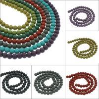 Polymer Ton Perlen , rund, verschiedene Größen vorhanden, keine, Bohrung:ca. 1mm, verkauft von Tasche