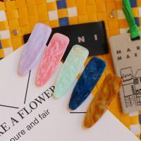 Klick Klack Spange, Zinklegierung, mit Kunststoff, goldfarben plattiert, für Frau, keine, frei von Nickel, Blei & Kadmium, 80mm, verkauft von PC