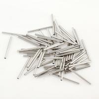 Messing Silberfarbe, 20x1mm, Bohrung:ca. 1mm, ca. 2000PCs/Tasche, verkauft von Tasche
