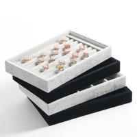Baumwollsamt Ohrstecker Anzeigebrett, keine, 220x140x30mm, verkauft von PC