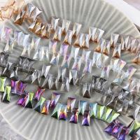 Mode Glasperlen, Glas, plattiert, keine, 20mm, Bohrung:ca. 1mm, 90PCs/Strang, verkauft von Strang