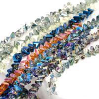 Kristall-Perlen, Kristall, plattiert, verschiedene Größen vorhanden, mehrere Farben vorhanden, verkauft von Strang