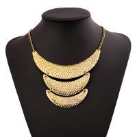 Zinklegierung Schmuck Halskette, mit Verlängerungskettchen von 5cm, goldfarben plattiert, für Frau, keine, frei von Nickel, Blei & Kadmium, verkauft per 17.7 ZollInch Strang