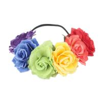 Stirnband, Stoff, Blume, für Frau, keine, 100mm, verkauft von PC