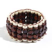 Holz Armbänder, für Frau, keine, 25mm, verkauft per ca. 6.6 ZollInch Strang