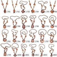 Pullover Kette Halskette, Holz, verschiedene Stile für Wahl & für Frau, keine, 6-9CM, verkauft per ca. 25.1 ZollInch Strang