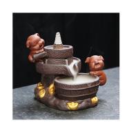 Porcelain Backflow Incense Burner, Porzellan, Halbhandgefertigt, verschiedene Stile für Wahl, verkauft von PC