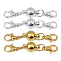 Messing Magnetverschluss, mit Karabinerverschluss & verschiedene Größen vorhanden, keine, 5SetsSatz/Tasche, verkauft von Tasche