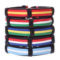 Leder Armband-Set, Armband, mit PU Leder, unisex, keine, frei von Nickel, Blei & Kadmium, 60mm, 5PC/setzen, verkauft von setzen