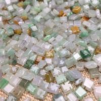 Jadeit Perlen, poliert, DIY, 6.60x3.20x6.60mm, 100PCs/Tasche, verkauft von Tasche