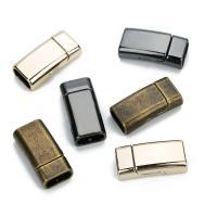 Zinklegierung Magnetverschluss, Rechteck, keine, 10x4.5mm, 5PC/Tasche, verkauft von Tasche