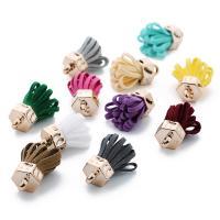 Baumwollsamt Troddel Ohrring Zubehöre, DIY, keine, 20PC/Tasche, verkauft von Tasche