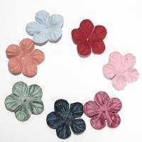 Stoff Haar Accessories DIY Zubehöre, Blume, keine, 100PCs/Tasche, verkauft von Tasche