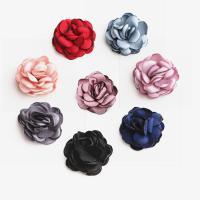 Stoff Haar Accessories DIY Zubehöre, Blume, keine, 50PCs/Tasche, verkauft von Tasche