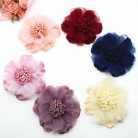 Stoff Schuhe Dekoration, Blume, handgemacht, DIY, keine, 90mm, 50PCs/Menge, verkauft von Menge