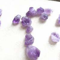 Natürliche Amethyst Perlen, DIY, violett, 25mm, 20PCs/Tasche, verkauft von Tasche