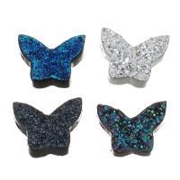 Harz Anhänger, Schmetterling, keine, 11x111x3.50mm, Bohrung:ca. 1mm, 10PCs/Menge, verkauft von Menge