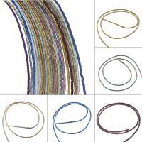 Nicht-magnetische Hämatit Perlen, Non- magnetische Hämatit, plattiert, DIY, keine, 1*1.5mm, Bohrung:ca. 0.5mm, 190PC/Strang, verkauft von Strang