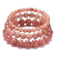 Strawberry Quartz Armband, plattiert, unisex & verschiedene Größen vorhanden, keine, verkauft per 7.4 ZollInch Strang