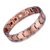 Kupfer Armband, unisex, Roségold, 13mm, verkauft von PC