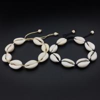 Muschel Schmuck Armband, mit Nylonschnur, für Frau, keine, verkauft per ca. 6.5 ZollInch Strang