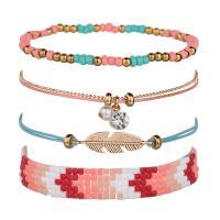 Nylon Armband-Set, mit Glasperlen, für Frau, verkauft von setzen