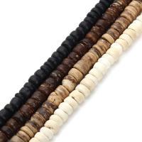 Holzperlen, Holz, Rondell, keine, 5mm, Bohrung:ca. 1mm, ca. 330PCs/Tasche, verkauft von Tasche